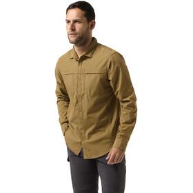 Craghoppers Kiwi Trek - T-shirt manches longues Homme - beige